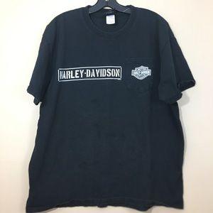 Men's Harley Davidson Pocket T Shirt XL